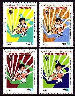 Jemen Briefmarken Schneidig Yemen Pdr 1979 ** Mi.234/37 Jahr Des Kindes Year Of The Child Rheuma Lindern