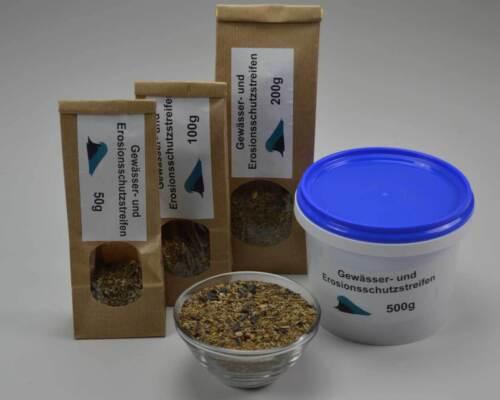 und Erosionsschutz streifen 100g Saatgut Samenmischung Blumen Samen Gewässer
