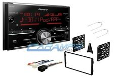 NEW PIONEER BLUETOOTH CAR STEREO DIGITAL MEDIA RADIO W/ DASH KIT & HARNESS