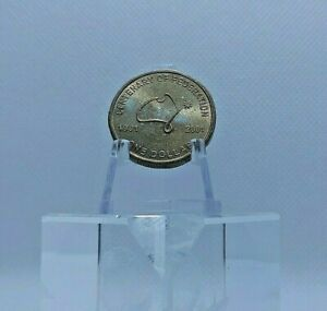 2001-1-Centenary-of-Federation-ROTATED-DIE-ERROR-Wonderful-Circulated-Condition