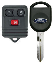 Ford Keyless Remote And Transponder Chip Ignition Key F150 F250 F350 F450 Fits Ford
