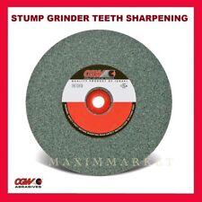 6 X 34 X 1 Green Silicon Carbide Grinding Wheel Stump Grinder Teeth Sharpening