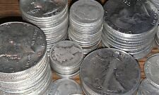 5 Ounces 90% Silver Coin Junk Half Dollars Quarters Dimes