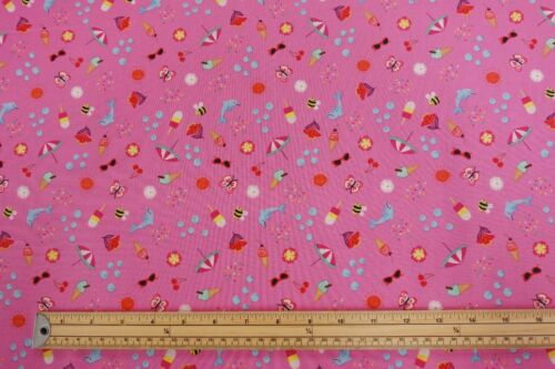 Lewis /& Irene WHATEVER THE WEATHER Spring Summer 100/% Cotton Patchwork Fabric