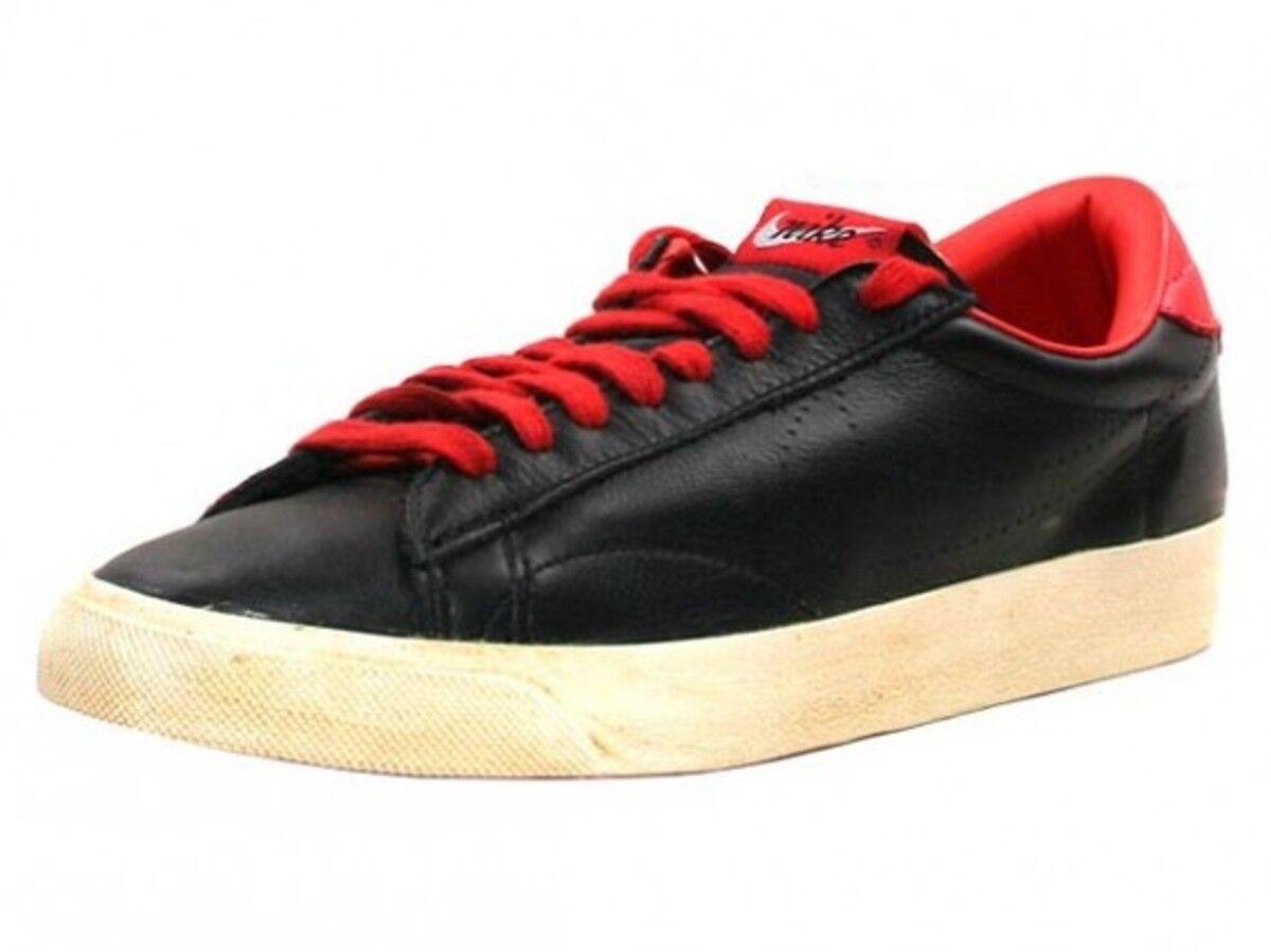 NIKE Tennis Classic Vintage Neu Leather Leder Black Gr:37,5 Retro Sneaker NEU