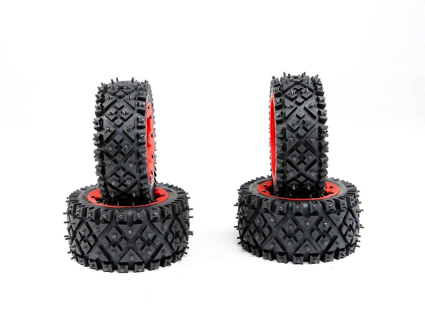 All-Terrain-Nagelreifen für Schnee und Ödland für 1 5 hpi baja 5b ss