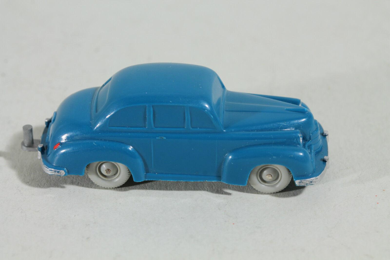 118 Typ 1D Wiking Opel Olympia (Typ 2) 1954 - 1959   azurblau PORZELAN RÄDER  | Verrückte Preis