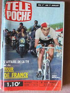 TELE-POCHE-N-333-28-juin-1972-Eddy-Merckx-et-le-Tour-de-France