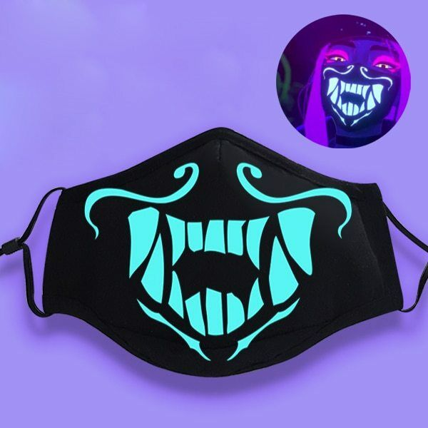 LOL League of Legends K//DA Kda Akali Cosplay S8 Anti-Dust Face Mask Respirator