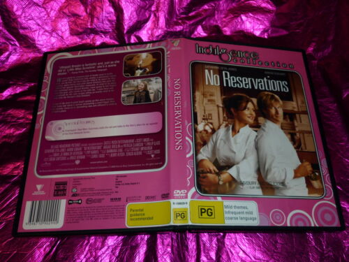 1 of 1 - NO RESERVATIONS (INDULGENCE COLLECTION) (DVD, PG)