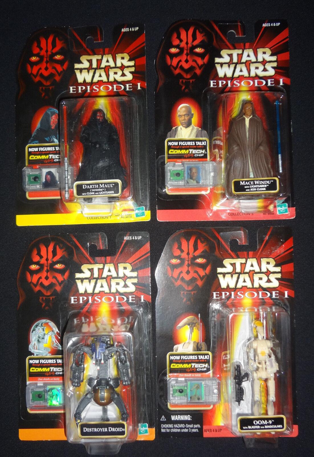 Lot of 15 Star Wars EPISODE I Obi-Wan YODA YODA YODA Darth Maul ANAKIN Destroyer Droid OOM a342fb