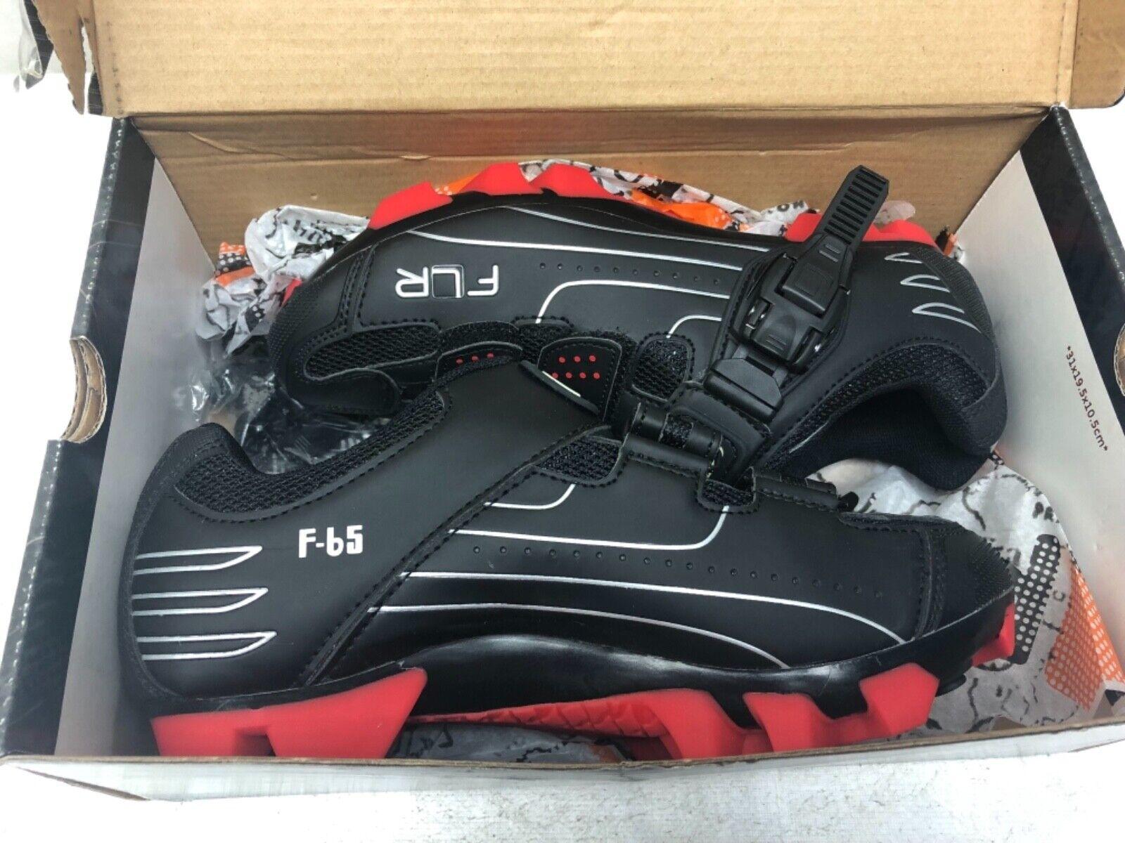 FLR F-65 Calzado Calzado Calzado para Ciclismo MTB Negro Para Hombre II 's Woman's (tamaño de Reino Unido 6.5, EU 40) 2a30a4