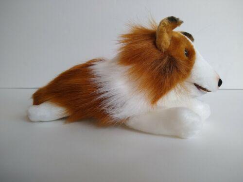 "Lassie Plush Dog 9/"" long Golden Books"