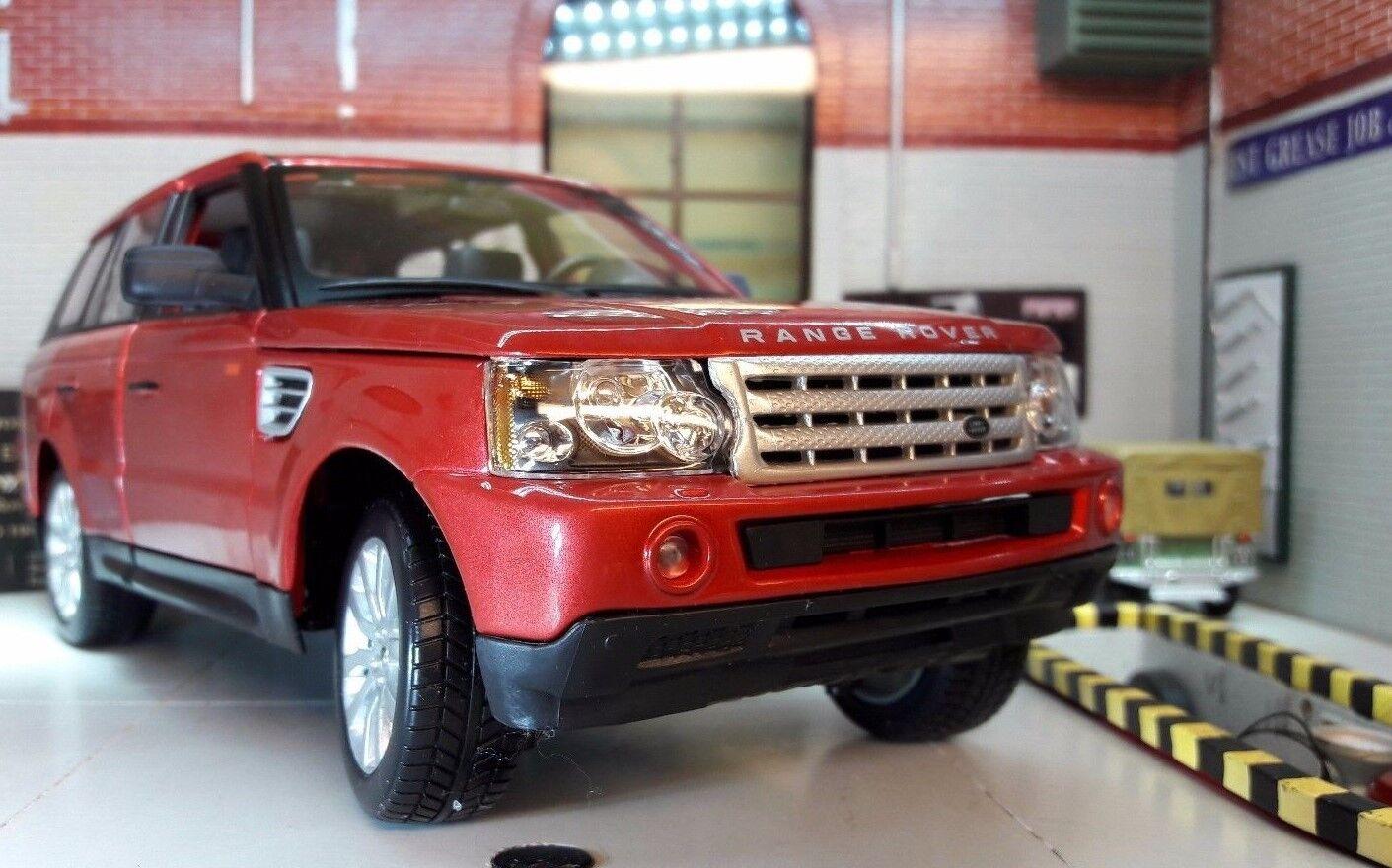 Range Rover Sport TDV6 V6 LR3 Met rot Detailed Diecast Model 1 18 Maisto Land