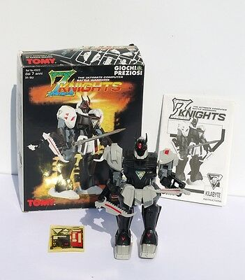 Aufstellfiguren UnermüDlich Z Knights Tomy Kilabyte Ultimate Computer Battle Warrios Giochi Preziosi Roboter