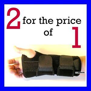 2-FDA-APPROVED-Wrist-Hand-Brace-Carpal-Tunnel-Support-Splint-Band-By-Flexibrace