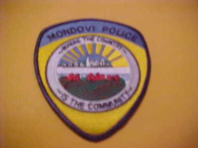 Mondovi Police patch