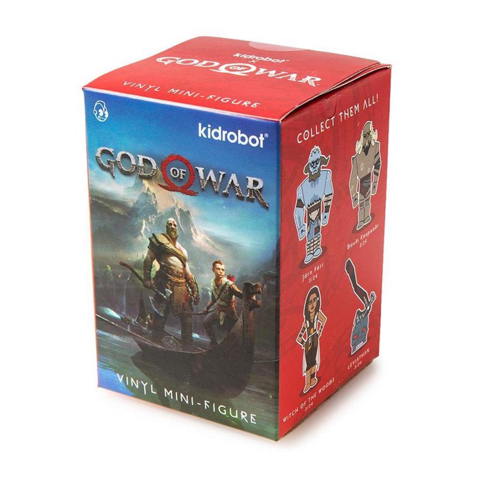 Kidrobot God Of War Blind Box Mini Figure 1 Full Case Of 24 Blind Boxes NEW Case