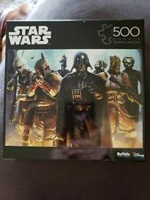 Disney Star Wars Hes All Yours Bounty Hunter 500 PC Jigsaw Puzzle Buffalo Games