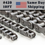 10 FEET WITH 1 EXTRA CONNECTING LINK #420-1R ROLLER CHAIN SAME DAY SHIPPING