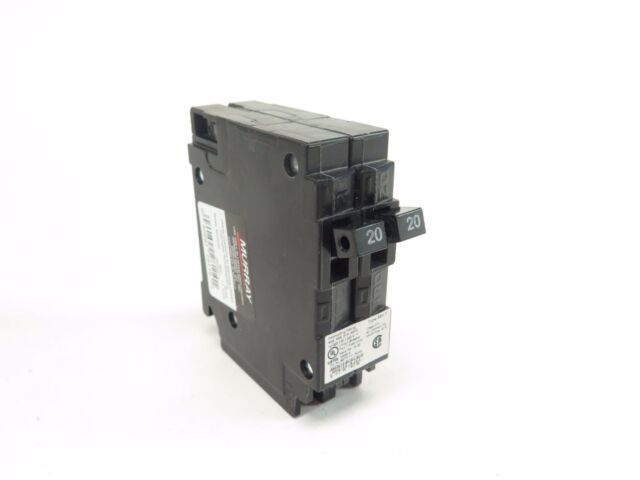 Murray MP2020 Two 20 Amp Single Pole 120 Volt Circuit Breaker ...