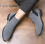 UK-Mens-Formal-High-Top-Chelsea-Ankle-Boots-Shoes-Faux-Suede-Casual-Shoes-Chukka thumbnail 3