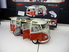 1:18 Schuco VW T1 Bus Samba Bus 1. Edition Schuco Exclusiv NEU NEW