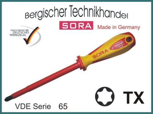 SORA 65405 VDE Torx Schraubendreher TX 9  x 100