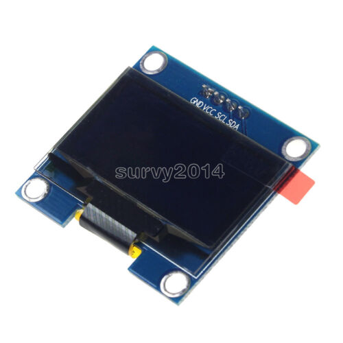 "1.3/"" módulo de pantalla OLED LCD 4PIN Blanco inter-integrated circuito I2C interfaz 128x64 para Arduino"