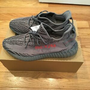 Details about Adidas Men's YEEZY BOOST 350 V2 Beluga AH2203 Kanye West Size 14 Grey NEW!