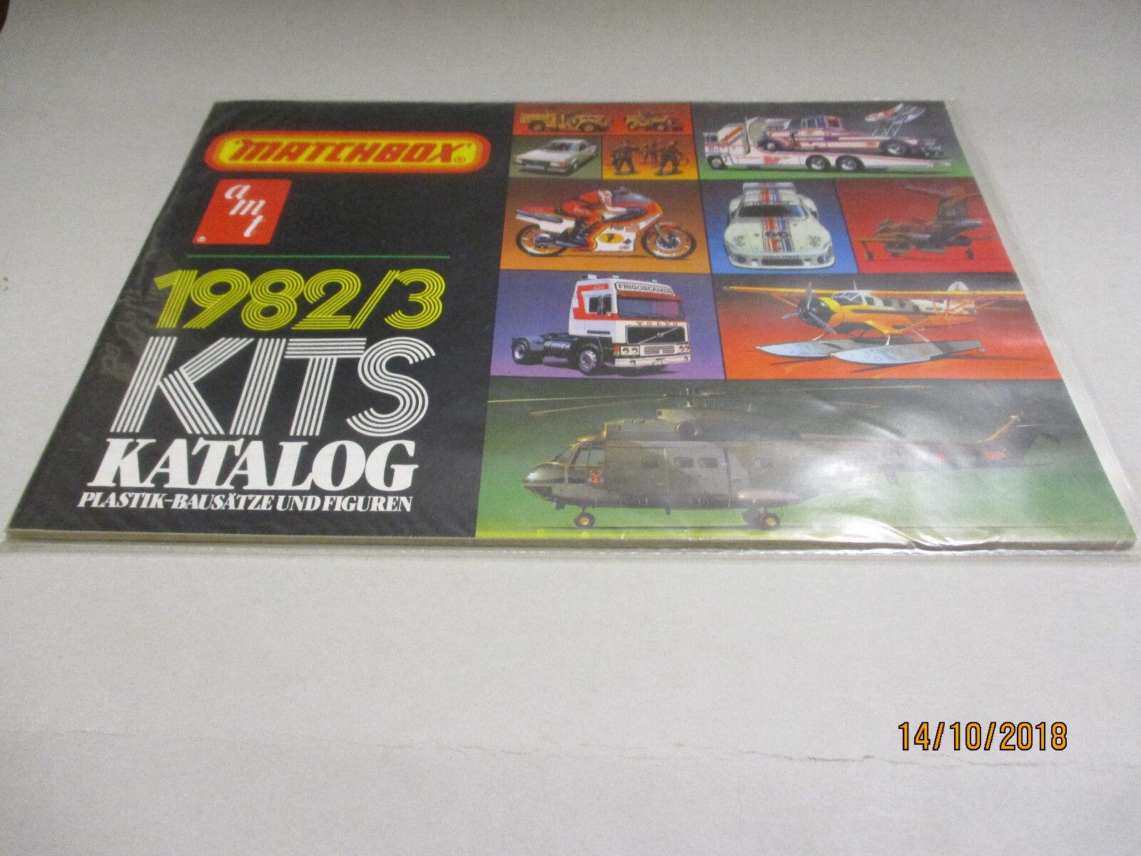 Matchbox Model Bausätze Katalog 1982 83