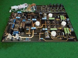 Details about Famous circuit 12AU7 12AX7 Tube preamplifier KIT DIY preamp