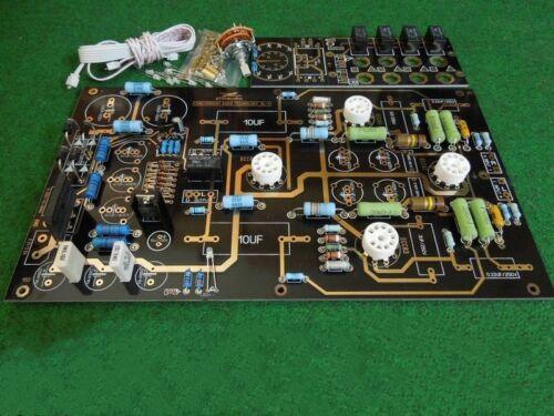 Famous circuit 12AU7 12AX7 Tube preamplifier KIT DIY preamp