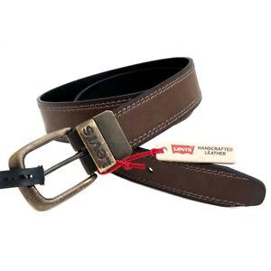 Details about New LEVI'S Reversible Belt (BrownBlack) Mens Size Medium (34 36