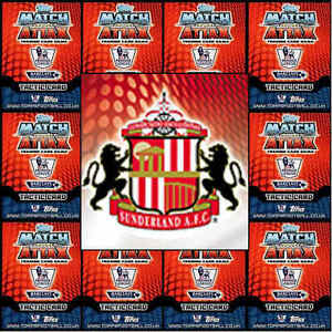 Match Attax 2014 2015 Football Cards Sunderland Various Players Soccer