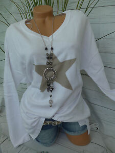 58 Neuf Sheego Taille 079 Avec toile 56 Pull 40 42 598 Pullover Blanc H7gwY7x1