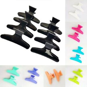 Hair 12PCS//Set Styling Butterfly Salon Clips Hairdressing  Section Clamp Claw