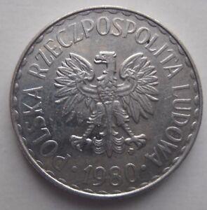 POLAND 1 ZLOTY 1980