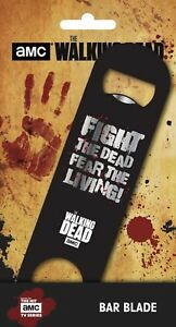 Oficial-THE-WALKING-DEAD-FIGHT-Fear-vivos-Barra-Blade-ABRELATAS-DE-BOTELLA