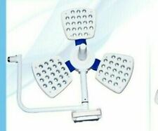 Operation Theatre Surgical Ot Light Ceiling 3 Reflector 145k Lux With Remote