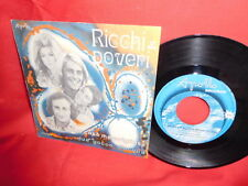 RICCHI E POVERI  L'amore è una cosa meravigliosa 7' + PS 45rpm 1970 Mint-