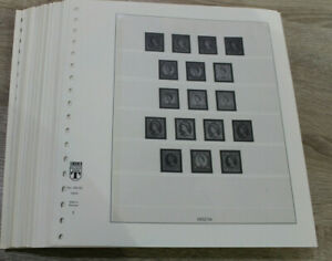 Lindner T Vordrucke Großbritannien 1952-1980  - Vordruckseiten / Vordruckalbum
