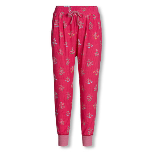 PiP Studio Damen Pyjamahose Wellness Hose lang Billy Winter Wonderland
