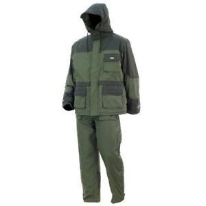 DAM Dura Therm Anzug, Thermo Anzug, grün-grau, Gr. XXL, 8625104