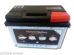 Batterie camping car cellule 12v 100ah à decharge lente haut de gamme