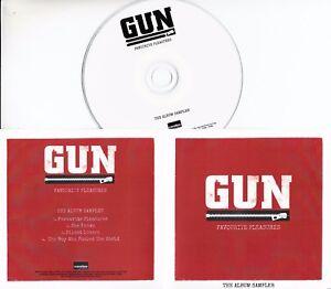 GUN-Favourite-Pleasures-Album-Sampler-2017-UK-4-trk-promo-test-CD