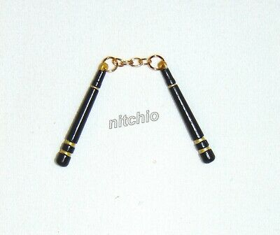 Mezco One:12 GOMEZ GOLDEN DRAGON NUNCHAKU WITH METAL CHAIN NUNCHUCKS