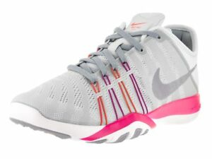 eee5cfe9fe94 Womens Nike Free TR 6 Training Shoes Pure Platinum Stealth Pink ...