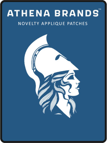 """Mech Jockey 4/"""" W x 1.5/"""" T Embroidered Iron or Sew-on Patch"""