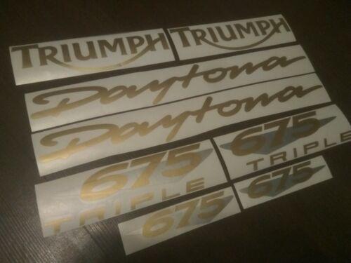 FOR Triumph Daytona 675 Triple 2011 full decals stickers graphics logo set kit